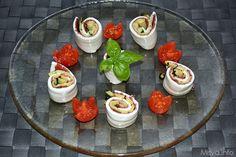» Girelle di mozzarella Ricette di Misya - Ricetta Girelle di mozzarella di Misya