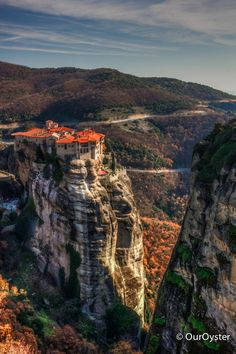It blows my mind how they even built these places in the middle ages! Discovered by Jade Johnston OurOyster.com at Meteora, #Trikala, #Greece #travel