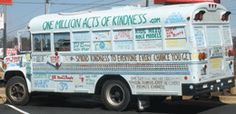Bob travels to college campuses to promote his goal of getting young people to commit to one million acts of kindness in their life