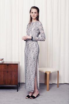 Adam Lippes Resort 2014 Fashion Show - Ros Georgiou