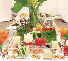 Details Party Rental - Buffet and Serving Ideas Aggie
