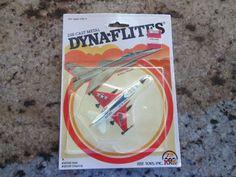 Dyna Flites - 1982 U S AIRFORCE JET AIRPLANE FIGHTER F 16 Airplane Fighter, F 16, Childhood Toys, Diecast, Air Force, Jet, Ebay, Baby Toys
