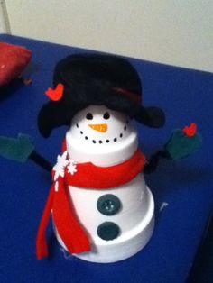 Melted snowman, Glue guns and Snowman on Pinterest