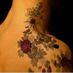 Pretty Tattoo Coloring- No Bugs!