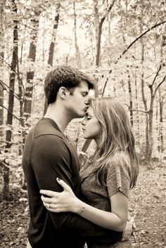 How I envision the park kiss