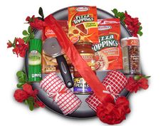 IDEAS GIFT BASKETS PIZZA PANS - Google Search