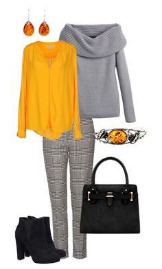 """amber 2"" by nespressita on Polyvore featuring Topshop, White House Black Market, MICHAEL Michael Kors, Be-Jewelled, women's clothing, women, female, woman, misses and juniors"