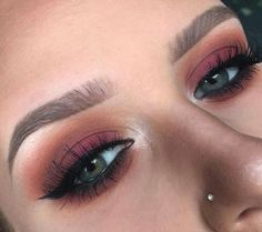 Red cranberry look