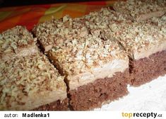 Baking Recipes, Cake Recipes, Dessert Recipes, Czech Desserts, Czech Recipes, Sweets Cake, Mini Cheesecakes, Healthy Diet Recipes, Christmas Sweets