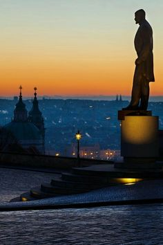 Sunrise in Prague, Czechia Beautiful Places In The World, Places Around The World, The Places Youll Go, Places To See, Around The Worlds, Prague Czech Republic, Belle Villa, To Infinity And Beyond, Central Europe