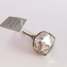 Silver Mercury Glass Drawer Handles / by HeavenlyHomesFlowers