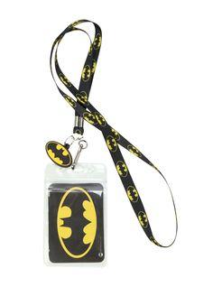 DC Comics Batman Skinny Lanyard | Hot Topic
