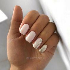 Semi-permanent varnish, false nails, patches: which manicure to choose? - My Nails Casual Nails, Stylish Nails, Trendy Nails, Chic Nails, Elegant Nails, Nagellack Design, Nagellack Trends, Square Acrylic Nails, Cute Acrylic Nails