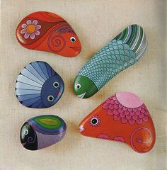 Painting Stones, inside cover by TinTrunk, via Flickr