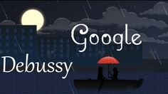 "Amazing Claude Debussy Google Doodle. Claude Debussy was a famous french composer. He was born on August 22, 1862 in Saint-Germain-en-Laye, France. Google celebrates his 151st birthday with an amazing doodle. It's an animated music-video. The song is ""Clair de lune"". It's the third movement of Suite bergamasque - a piano depiction of a Paul Verlaine poem."