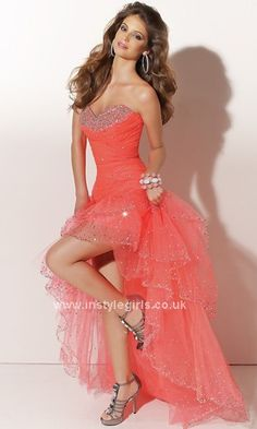 High Low Prom Dress.  For Shelby - maybe??
