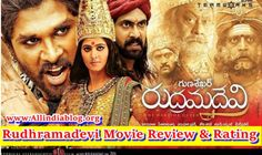 Rudhramadevi Movie Review & Rating, Live Updates - Box Office Collections