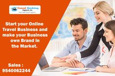 Start your Online Travel Business and make your Business own Brand in the Market. Know more visit : http://www.travelbookingagent.in/