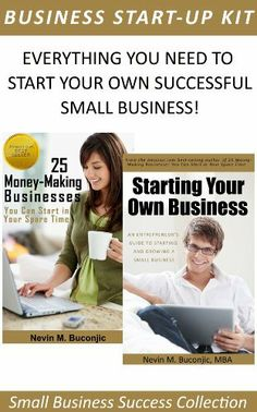 Small Business Start-Up Success Collection by Nevin Buconjic. $1.99. Publisher: Digital Adventures (December 31, 2012). Author: Nevin Buconjic. 122 pages
