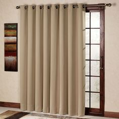 Delicieux Fantastic Sliding Door Curtains