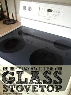 How To Clean That Pesky Burnt On Food From Your Gl Stove Top Without The Use Of Chemical Cleaners