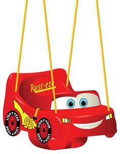 Disney Pixar S Cars The Movie Toddler Swing