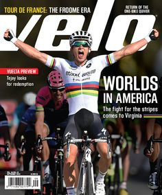 Getting excited for #RichmondWorlds? The September issue of #Velo has everything you need to know!!