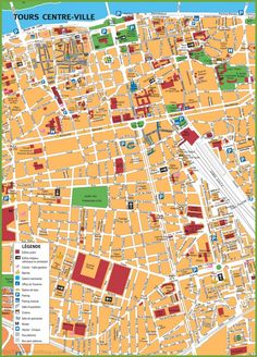 Kassel tourist map | Maps | Pinterest | Tourist map, Kassel and City