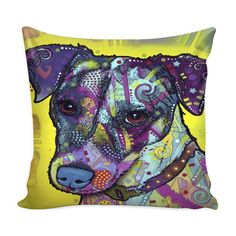 Jack Russell Pillow Cover Series