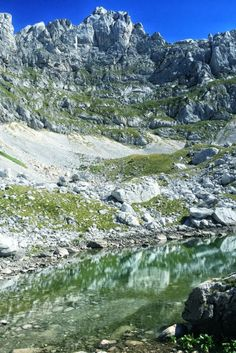 Beautiful glacial lakes in Durmitor National Park, Montenegro in the Balkans