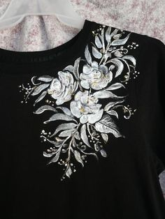 Tapestry - Textile - Hand Painted T- Shirt    by Karin  Dawn Kelshall- Best