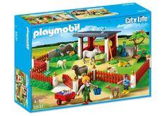 Playmobil 5531 - Tierpflegestation mit Freigehege - Box