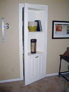 Hidden Doors by Fiorenza Custom Wood working