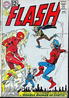 The Flash #129 (June 1962) cover by Carmine Infantino & Murphy Anderson