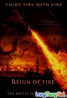 Bộ Phim : Triều Đại Rồng ( Reign Of Fire ) 2002 - Phim Mỹ. Thuộc thể loại : Phim Hành Động , Phim phiêu lưu , Phim Thần Thoại Quốc gia Sản Xuất ( Country production ): Phim Mỹ   Đạo Diễn (Director ): Rob BowmanDiễn Viên ( Actors ): Matthew McConaughey, Christian Bale, Izabella ScorupcoThời Lượng ( Duration ): 101 phútNăm Sản Xuất (Release year): 2002Vào một ngày tại thành phố London, cậu bé Quinn 12 tuổi đ�