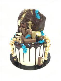 Chocolate drip cake! Addicted to chocolate!
