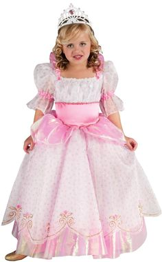 Pink Toddler and Girls Princess Costume - Princess Costumes