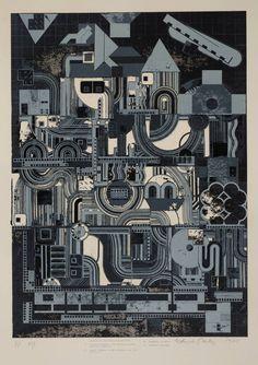 Sir Eduardo Paolozzi 'From Early Italian Poets', 1974–6 © The Eduardo Paolozzi Foundation
