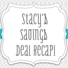Stacy's Savings Daily Hot Deal Recap!  - http://www.stacyssavings.com/stacys-savings-daily-hot-deal-recap-13/