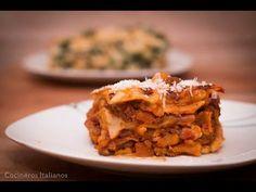 La Autentica Lasaña de Carne Molida con Salsa Boloñesa | Receta Facil | ...