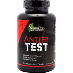 The NutraKey Antler Test Complex Capsules increase GH (Growth Hormone) levels and boosts testosterone. Best Muscle Building Supplements, Best Supplements, Energy Level, High Energy, Deer Antler Velvet, Build Muscle Mass, Testosterone Booster, Health Research, Growth Hormone
