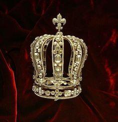 Marie Antoinette tiara by silvia.darvish