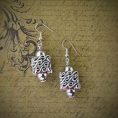 Earrings hand made nespresso by greenjewelryart