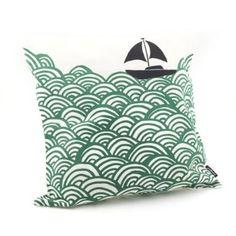 Bigger Boat Cushion Cover