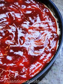 Brisando na Cozinha: Torta de ricota com limão e goiabada