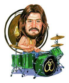 John Bonham Painting