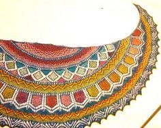 Ravelry: Lotus Crescent pattern by Kieran Foley