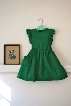 Vintage Pinafore Dress.