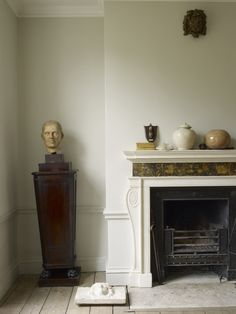 The antique inspired Jamb Oxford #reproduction #fireplace.