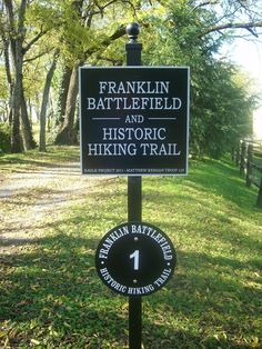 Step back in time at one of the many Civil War sites in Franklin, TN.
